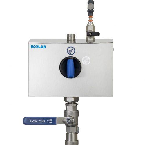 Hybrid ECO blue handle closed straight